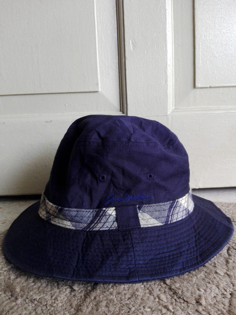 118c18095a780 Jack Nicklaus Bucket Hat in Navy Blue used