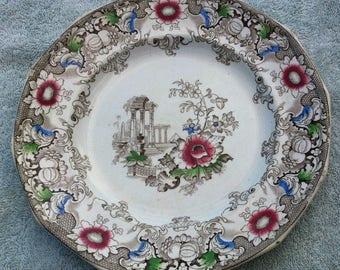 Vintage Cleopatra plate