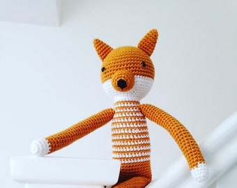 Crochet Fox Toy