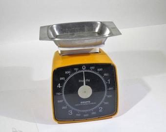 vintage table scales KRUPS 80's