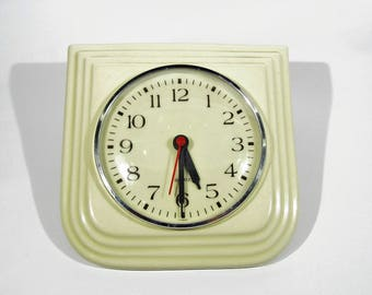 vintage Wall clock porcelain