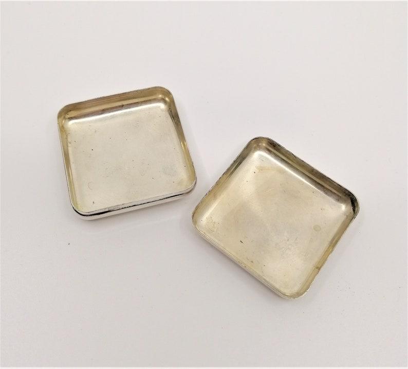 Pill Box Travel Pill Case antique silver 800 Purse Pill Case