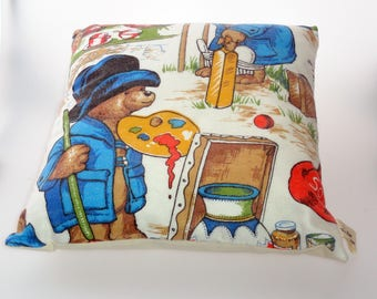 Paddington bear cushion cover