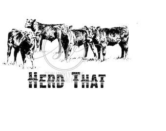Herd That svg, pdf, jpeg