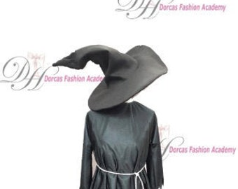 Witches Tunic & Hat Pattern +Tutorial PDF
