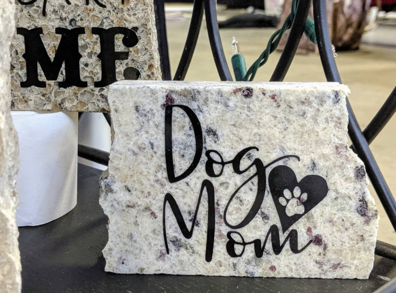 Dog Mom Original Granite Decor