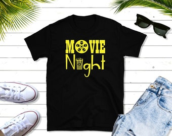Movie Night, Unisex Shirt