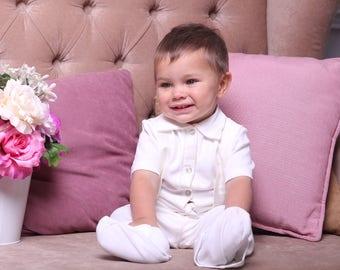 Boy wedding outfit | Etsy