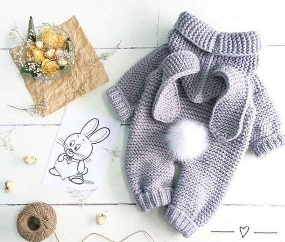 Knitted Baby Clothes A78n