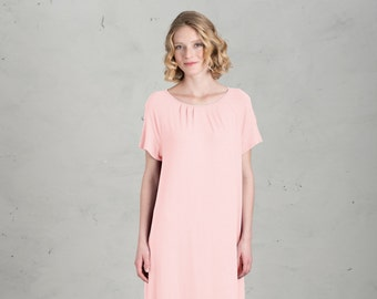 Short Bridesmaid dress - Marie, Rose / Pink