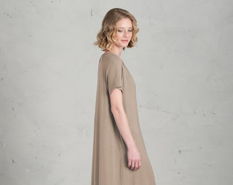 Short Bridesmaid dress - Marie, Sand / Beige