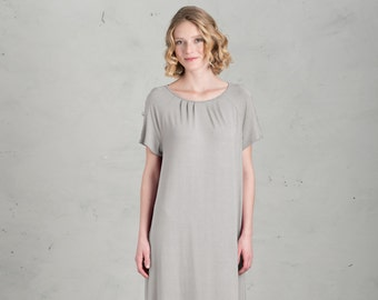 Short Bridesmaid dress - Marie, Light Gray