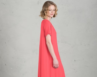 Short Bridesmaid dress - Marie, Coral