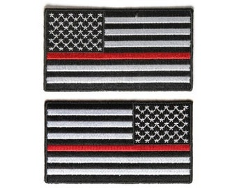 08fe1c4f411f THIN RED LINE Subdued American Flag 3.5