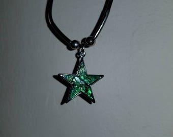 Green Star Pendant