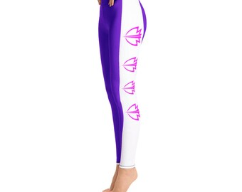 Bonafide Purple Flag Leggings