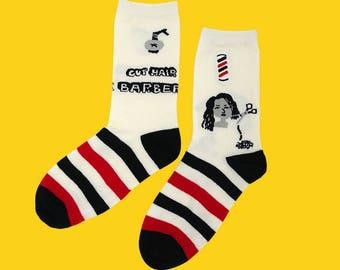 FREE SHIPPING I like hair cut socks for women