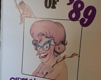 Rare Dunny Door Hanger Pickeringu0027s Playmate Calendar of 1989 Man Cave must have Great Aussie Cartoonist. & Rare Dunny Door Hanger Pickerings Calendar of 1991 Man Cave