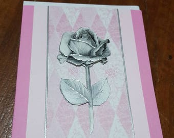 Handmade card for a special person & for any occasion!!