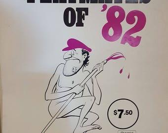 Rare Dunny Door Hanger Pickeringu0027s Playmate Calendar of 1982 Man Cave must have Great Aussie Cartoonist. & Rare Dunny Door Hanger Pickerings Calendar of 1991 Man Cave