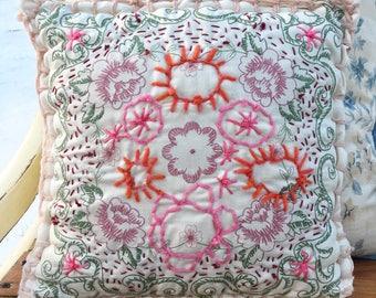 Sun Bloom Pillow