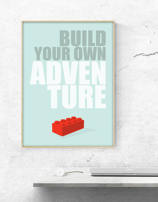 Bouw je eigen avontuur lego bouwstenen inspirerende kunst for Bouw je eigen badkamer