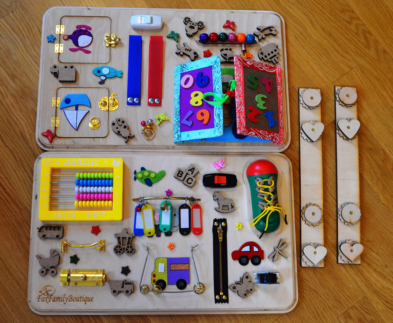 Busy-Brett Transformator Spielzeug für Autismus beschäftigt | Etsy