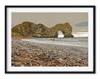 Dorset's Durdle Door Art Print