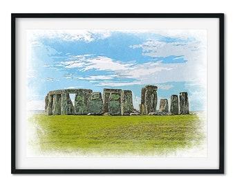 Stonehenge Art, Stone Age Art