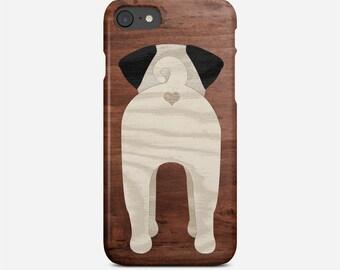 Pug Butt Phone Case, Pug Phone Case, Pug Case, Funny Phone Case