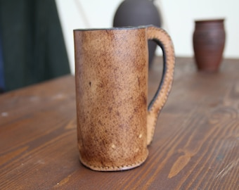 Black jack, Blackjack, Leather Mug, Leather Cup