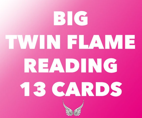 Items similar to Big Psychic Twin Flame Love Reading, Same