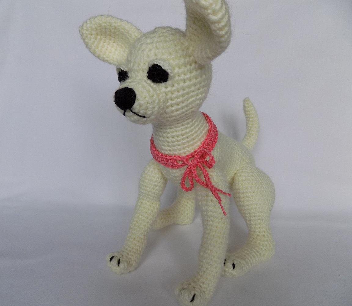 Amigurumi Dog Plush Chihuahua Plush Dog Cute Soft Toy Crochet Etsy