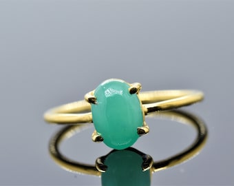 925 Sterling Silver Certified 4.50 Carat Gorgeous Natural Colombian Emerald Panna Green Gemstone Men/'s Ring