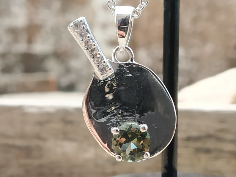 NATURAL TOURMALINE PENDANT-925 Sterling silver pendant