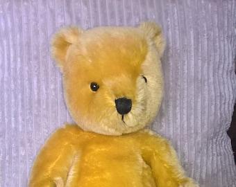 Golden bear, limited edition bear