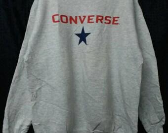 Vintage 80s converse sweatshirt deadstock L