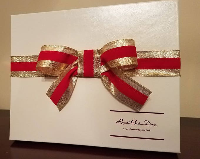 Greeting card boxes reynolds graham design boutique box with ribbon m4hsunfo