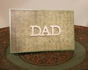 Father's Day, Unique Greeting Card's, Father's Day Cards, Handmade Greeting Cards, ReynoldsGrahamDesign