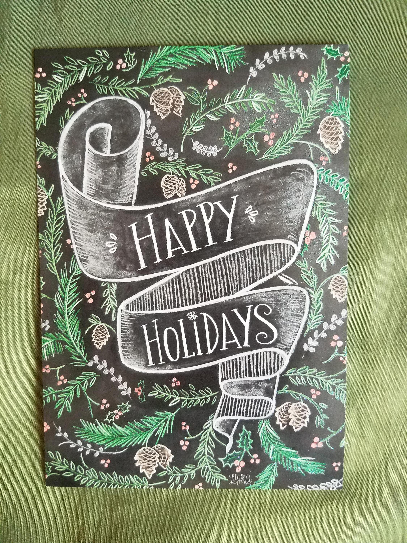 Happy Holidays by Leanin Tree