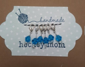 Sapphire Stitch Markers