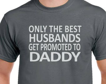 New Dad Shirt Husband Gift- Fathers day, Only The Best Husbands Men's T Shirt- Dad Gift Fathers Day Shirt Husband Shirt, shirts, dad gift