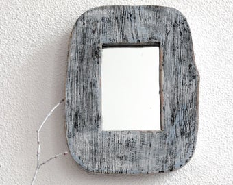Small Mirror, Wall Mirror, Shabby chic Mirror, Rustic Mirror, Farmhouse Mirror, Modern Mirror, Decorative Mirror, Wood Mirror, Frame Mirror
