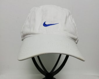 9b88ca76d33 Vintage Nike Swoosh Embroided Logo One Size Baseball Cap Hat