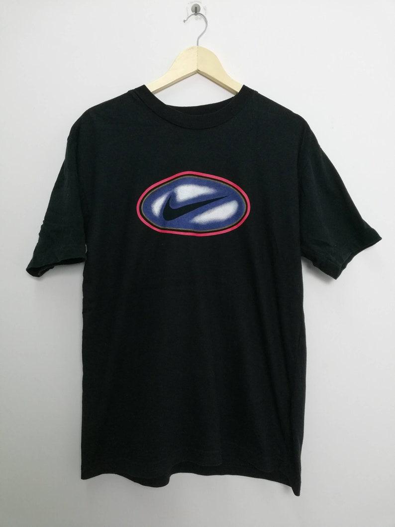 best website 458a2 f1fc7 Nike Air Big Logo Medium Size Streetwear T-shirt   Etsy