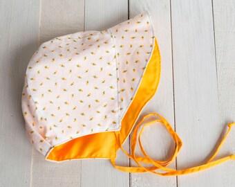 Sunny Yellow Sunbonnet 24769a02d95