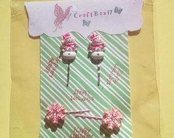 Christmas hair accessories, Bobby pins set, hair pins, hair accessories for women, hair accessories for girls, bobby pins for hair