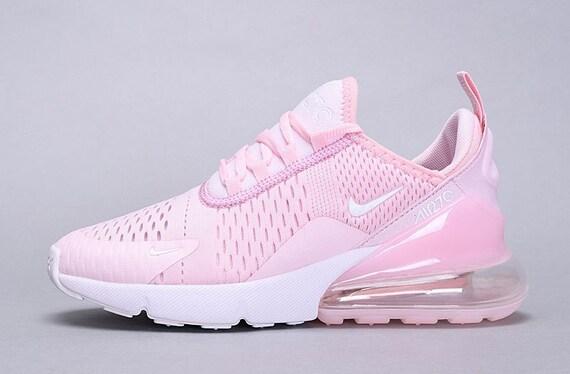 Pink Nike Air Max 270s   Etsy