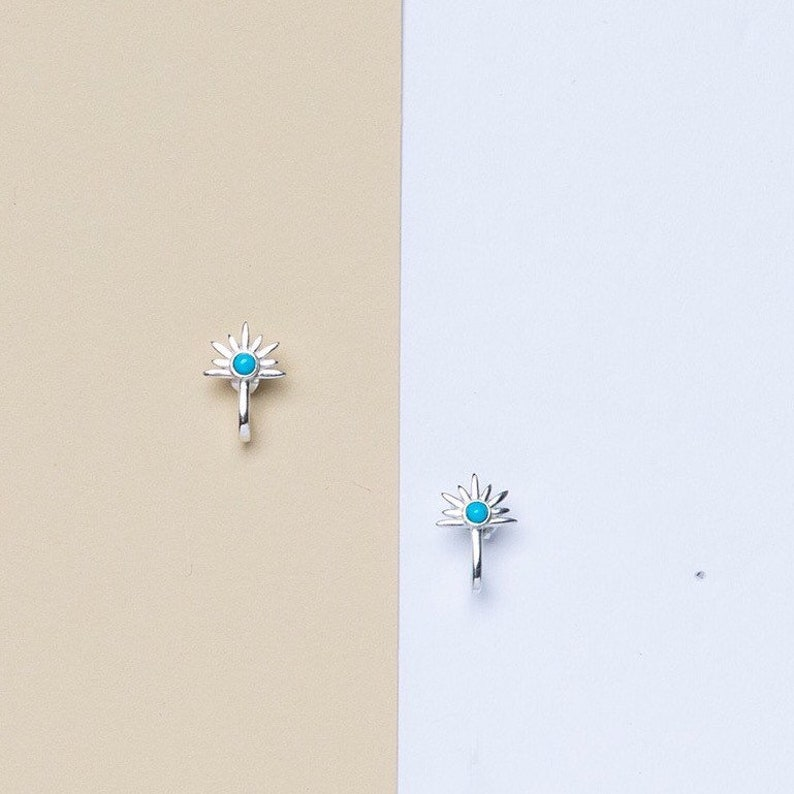 Silver Post Earrings Dainty Minimalist Earrings Dainty Post image 0