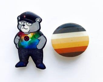 Geek Bear Pin